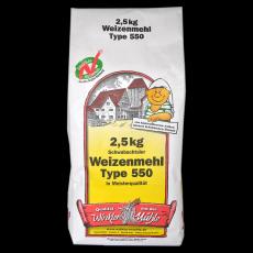 Weizenmehl 550 2,5 kg