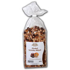 Schoko-Dinkel-Müsli 500 g