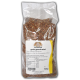 Leinsaat grob geschrotet 500 g